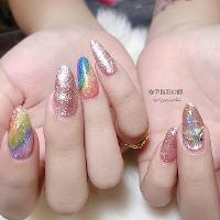 彩虹🌈的魅力 在這♥️ 琁甲指彩沙龍