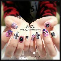 FB: 艾薇亞美甲 ARIEL Nail & SPA Service Line ID : ivycheng Tel : 0981030336