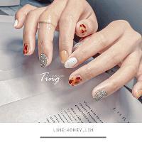 #TingLin美甲作品 有興趣的女孩們🌸 可以直接+我LINE詢問/預約唷~  //Si Lù蕬潞美甲 美甲師Ting(林霆) 🔎FB:Si Lù蕬潞美甲美睫 🔍IG:TingLin_nails Line ID:Honey_lin 中壢美甲 桃園美甲