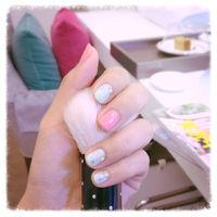 光療指甲初體驗^_^