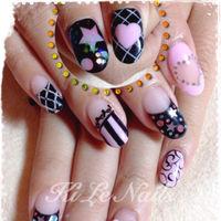 手繪💕 FB粉絲團:Ki Le Nails指/作室