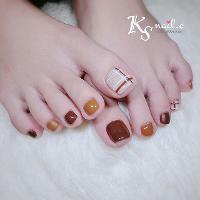#KS美甲 #KSNail #nail #美甲 #KS #砂糖膠 #子曦  Line ID:f881743✅ FB私訊:KS美甲小舖nail's shop-沙鹿👍