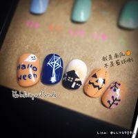 Halloween🎃 Q's Infinity nail Studio Line: @LLY4929L