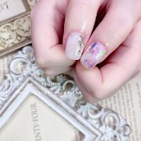 也是極度仙氣的一款❤️         ⭐️Neko nail studio ⭐️ 🐈Line預約ID: vilovewi 🐈FB:https://m.facebook.com/nekonailstudio/ (FB搜尋 Neko nail studio日式美甲工作室) 🐈IG追起來:Neko_nail_studio