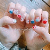 超適合去日本旅遊的美美甲❤️ ------------ Ansha 安夏時尚美甲 Instagram:ansha_nails 預約line:loveayuki