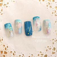 自創款式 幻彩流星 💅兩位90後有夢想的澳門女生 facebook: Milian nail& makeup studio Instagam:Milkng 📞+853 63688332